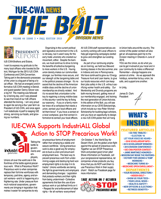 The Bolt fall 2015